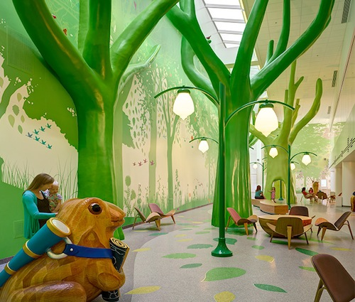 Backyard Treehouse Pediatric Therapy : 10 Most Colorfully Inspiring Childrens Hospitals in the World